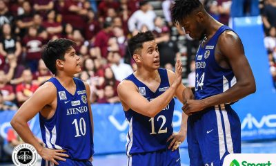 Tiebreaker Times Angelo Kouame insists he did not intend to hurt Bright Akhuetie Basketball News UAAP UP  UAAP Season 81 Men's Basketball UAAP Season 81 Bright Akhuetie Ateneo Men's Basketball Angelo Kouame