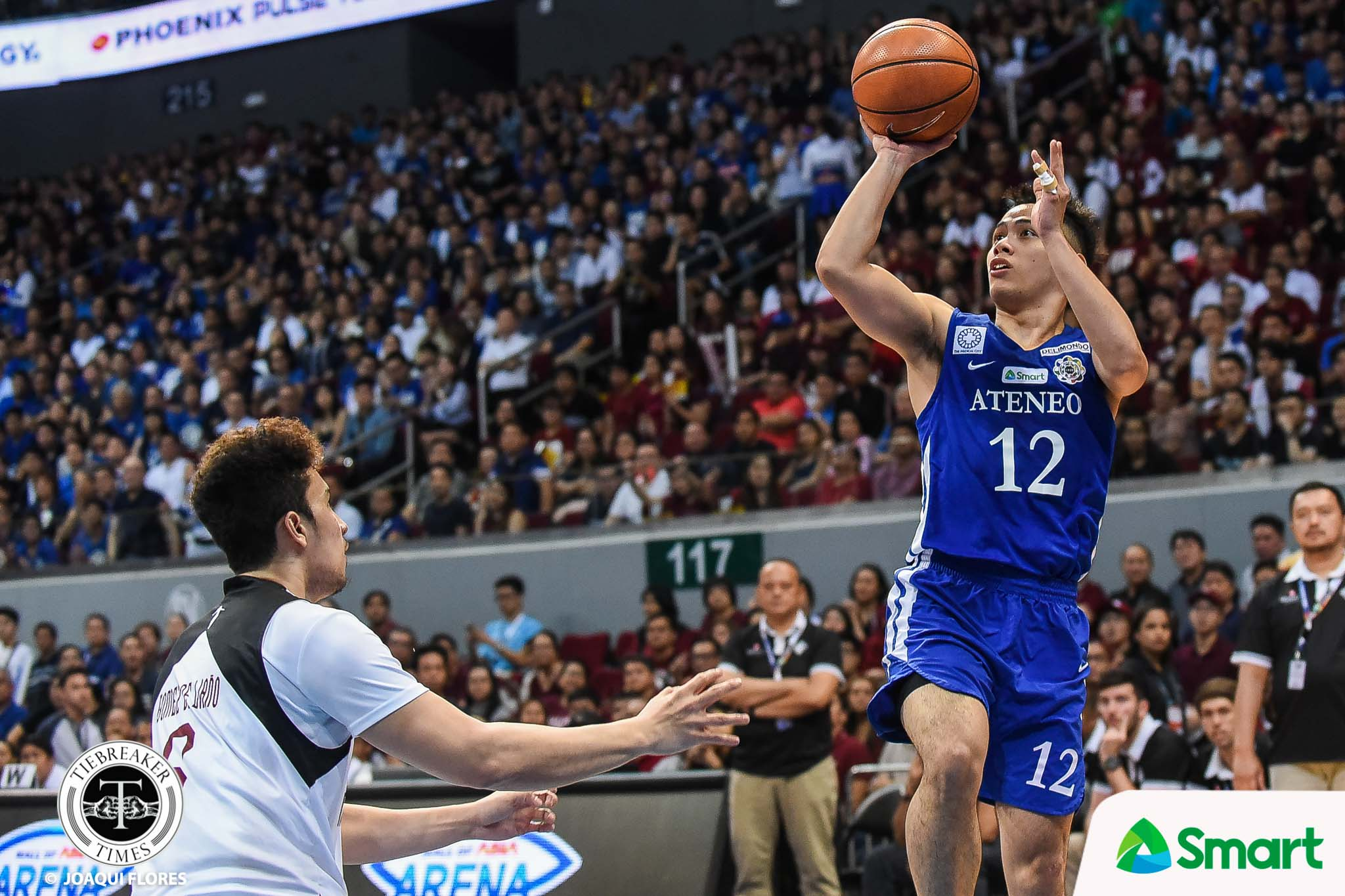 Tiebreaker Times Matt Nieto dedicates career-high to senior Anton Asistio ADMU Basketball News UAAP  UAAP Season 81 Men's Basketball UAAP Season 81 Matt Nieto Ateneo Men's Basketball Anton Asistio