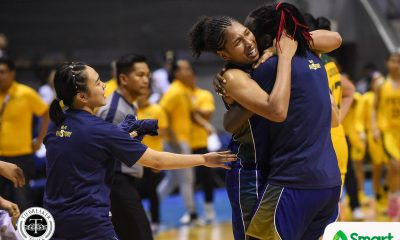 Tiebreaker Times Another Milestone: NU Women's Basketball matches Ateneo Men's streak with 5th straight tiara Basketball FEU News NU UAAP  UAAP Season 81 Women's Basketball UAAP Season 81 Ria Nabalan Rhena Itesi Patrick Aquino NU Women's Basketball Jack Ainmam FEU Women's Basketball fatima quiapo Clare Castro Bert Flores