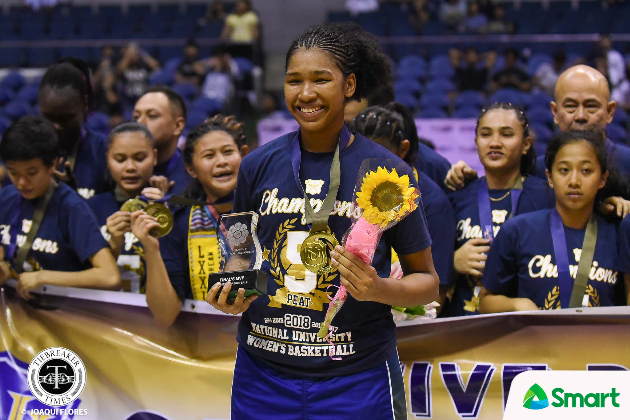 Tiebreaker Times Jack Animam gets last laugh after copping Finals MVP plum Basketball News NU UAAP  UAAP Season 81 Women's Basketball UAAP Season 81 NU Women's Basketball Jack Animam