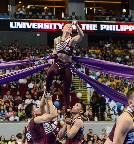 Tiebreaker Times UP Pep to have new set of drums for Game 2 Basketball Cheerleading News UAAP UP  UP Pep Squad UAAP Season 81 Men's Basketball UAAP Season 81