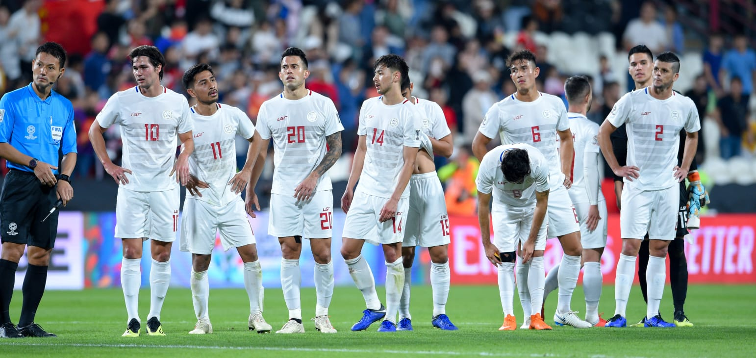 Tiebreaker Times Azkals lament China debacle Football News Philippine Azkals  Stephan Schrock Phil Younghusband 2019 AFC Asian Cup