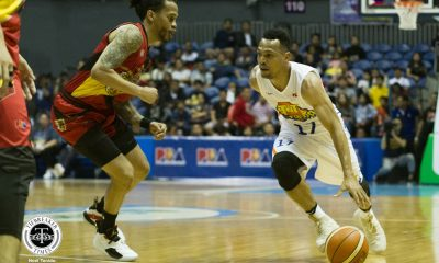 Tiebreaker Times Jayson Castro elated after TNT ends 9-game skid to San Miguel Basketball News PBA  TNT Katropa PBA Season 44 Jayson Castro 2019 PBA Philippine Cup
