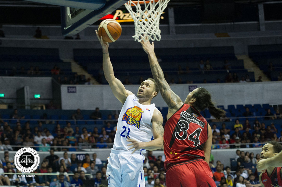 Tiebreaker Times TNT to handle Kelly Williams issue internally as retired cager reaches out Basketball News PBA  TNT Katropa PBA Season 45 Kelly Williams gabby gui