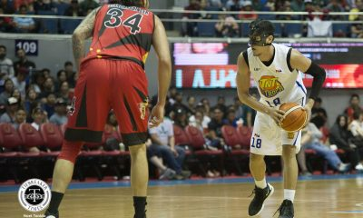 Tiebreaker Times Masked Troy Rosario proves to be difference in TNT's big win over San Miguel Basketball News PBA  Troy Rosario TNT Katropa PBA Season 44 2019 PBA Philippine Cup