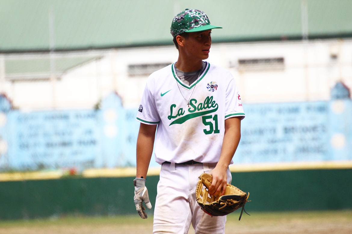 Tiebreaker Times La Salle storms back against Ateneo to complete PBL elims sweep ADMU Baseball DLSU News NU PBL UP UST  UST Baseball UP Baseball Philippine National Baseball Team NU Baseball Luis Minana Junmar Diarao Joseph Orillana DLSU Baseball Diego Lozano Boo Barandiaran Ateneo Baseball Aids Bernardo 2019 PBL Season