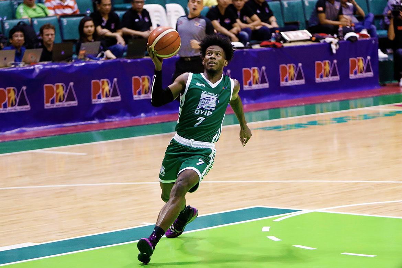 Tiebreaker Times CJ Perez overcomes jitters, then helps Columbian slay San Miguel Basketball News PBA  PBA Season 44 Columbian Dyip CJ Perez 2019 PBA Philippine Cup