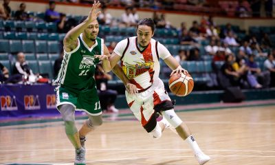 Tiebreaker Times Double whammy for Terrence Romeo as he suffers loss, ankle injury Basketball News PBA  Terrence Romeo San Miguel Beermen PBA Season 44 2019 PBA Philippine Cup