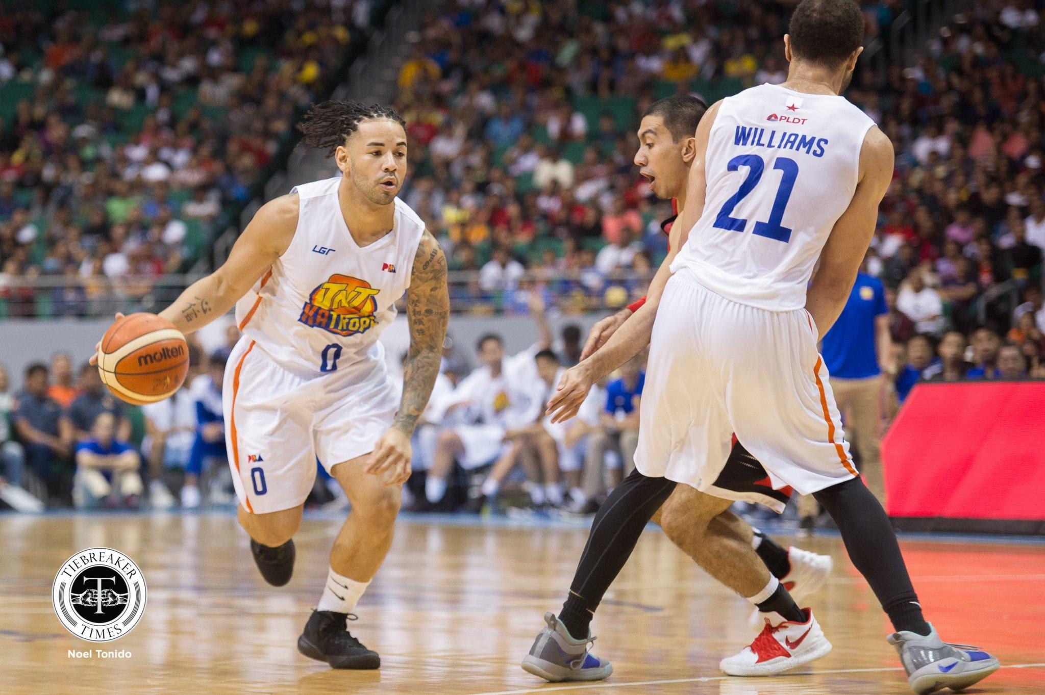 Tiebreaker Times Brian Heruela glad to make immediate impact in TNT debut Basketball News PBA  TNT Katropa PBA Season 44 Brian Heruela 2019 PBA Philippine Cup