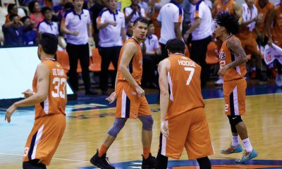 Tiebreaker Times Nico Salva takes over late as Meralco deals Blackwater second loss Basketball News PBA  Trevis Jackson Roi Sumang Raymar Jose PBA Season 44 Paul Desiderio Norman Black Nico Salva Mike Tolomia Meralco Bolts Mac Belo Cliff Hodge Bong Ramos Blackwater Elite Allein Maliksi 2019 PBA Philippine Cup