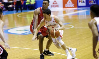 Tiebreaker Times Robert Bolick on sensational NorthPort debut: 'Pinoprotektahan ko lang naman yung family ko' Basketball News PBA  Robert Bolick Pido Jarencio PBA Season 44 Northport Batang Pier 2019 PBA Philippine Cup
