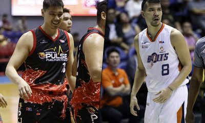 Tiebreaker Times Justin Chua, Nico Salva glad to see each other thrive 7 years after 5-peat Basketball News PBA  Phoenix Fuel Masters PBA Season 44 Norman Black Nico Salva Meralco Bolts Justin Chua 2019 PBA Philippine Cup