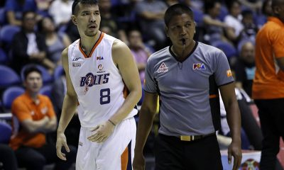 Tiebreaker Times Nico Salva repays Meralco's trust with career-game Basketball News PBA  PBA Season 44 Nico Salva Meralco Bolts 2019 PBA Philippine Cup