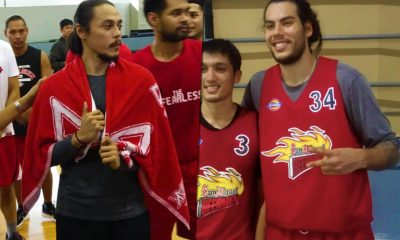 Tiebreaker Times San Miguel responds to Alex Compton's statement: 'Each PBA team has a responsibility to form formidable squad' Basketball News PBA  Terrence Romeo San Miguel Beermen PBA Season 44 Christian Standhardinger Alex Compton Alaska Aces 2019 PBA Philippine Cup