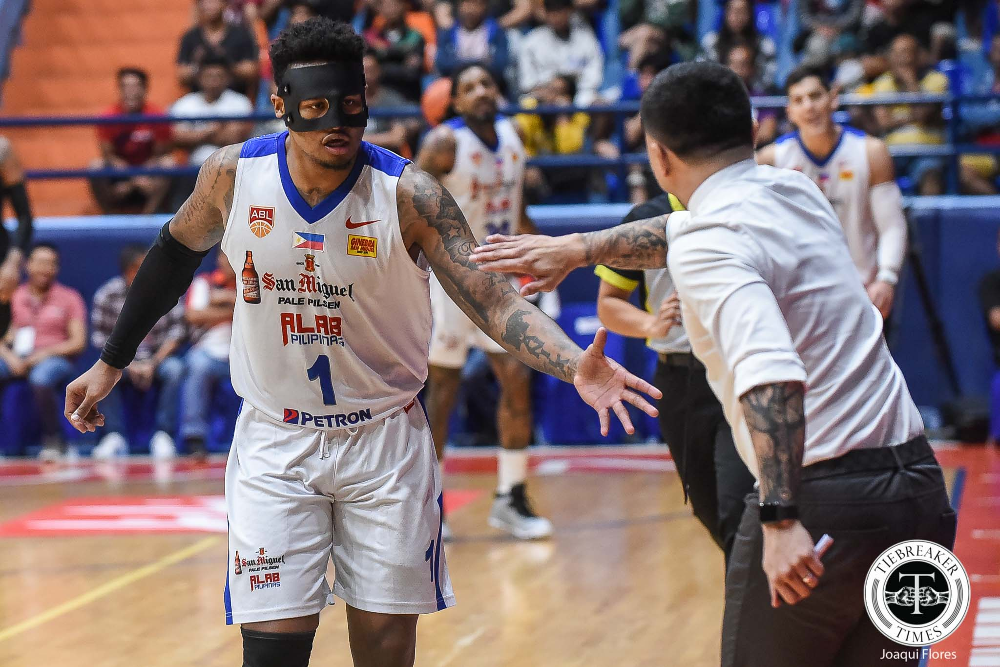 Tiebreaker Times Ray Parks admits being uncomfortable with mask, still tallies double-double ABL Alab Pilipinas Baseball News  Bobby Ray Parks Jr. 2018-19 ABL Season