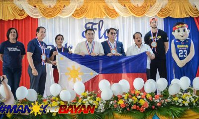 Tiebreaker Times DepEd lauds Chooks-to-Go for promoting nationalism through sports Branded Content News  Tonisito Umali Ronald Mascarinas Kobe Paras Department of Education Chooks-to-Go