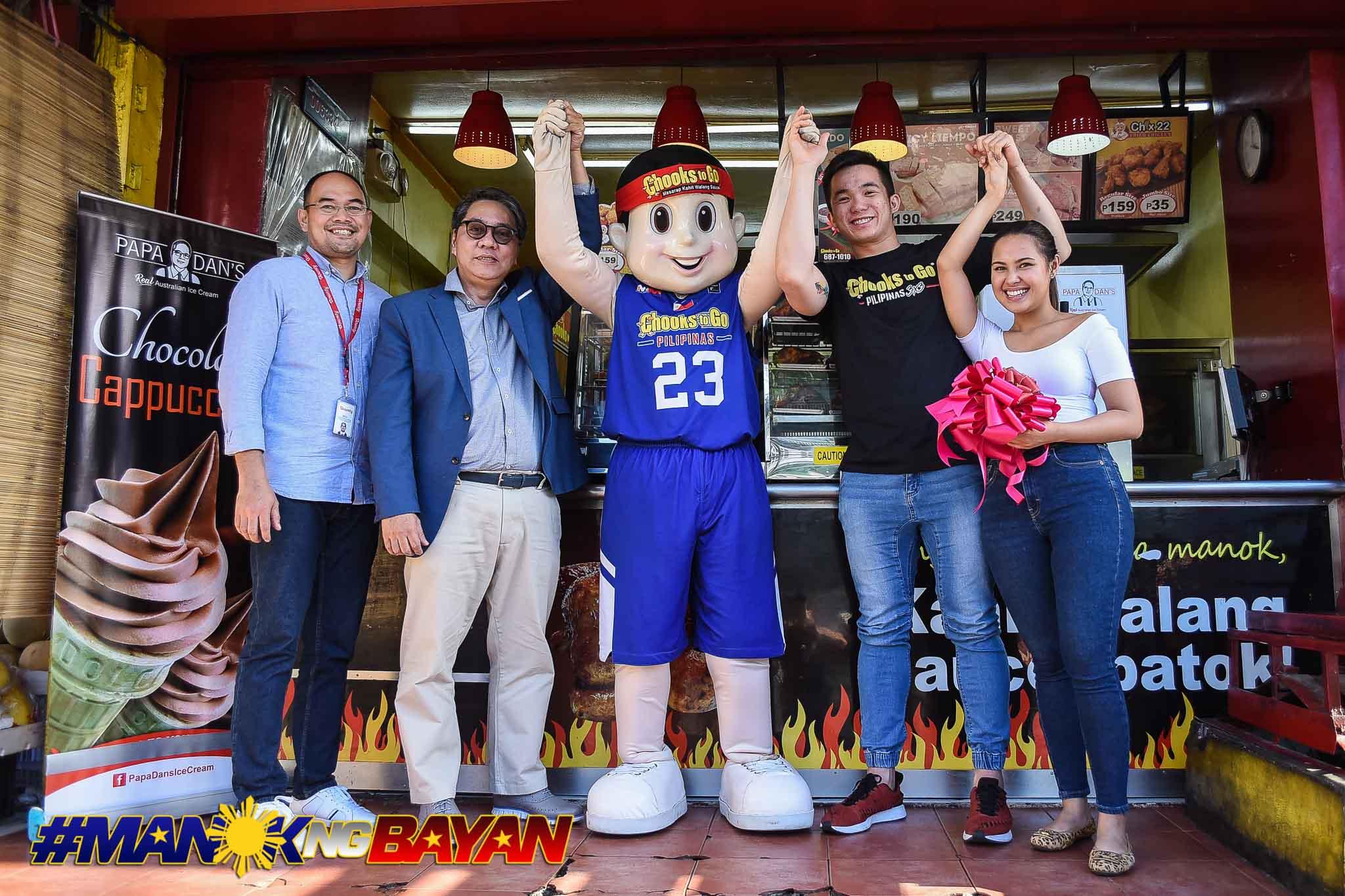 Tiebreaker Times Paul Desiderio ventures into new business Chooks-to-Go Pilipinas 3x3 News  Paul Desiderio Agatha Uvero