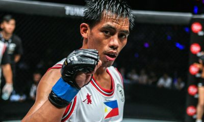 Tiebreaker Times Honorio Banario grateful as he still gets to compete in Manila Mixed Martial Arts News ONE Championship  Team Lakay ONE: Masters of Destiny Honorio Banario