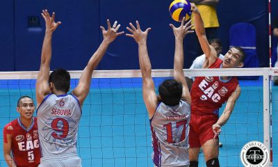 Tiebreaker Times Young EAC Generals shock Arellano Chiefs, advance to semis AU EAC NCAA News Volleyball  Sherwin Meneses Rod Palmero NCAA Season 94 Men's Volleyball NCAA Season 94 Mark Julao Kim Tan Joshua Ramilo Joshua Miña Earl Magadan EAC Men's Volleyball Christian Segovia Arellano Men's Volleyball