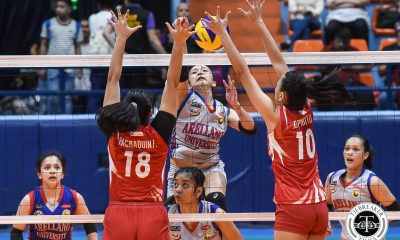 Tiebreaker Times Rejuvenated Regine Arocha leads Arellano Lady Chiefs back to Finals AU NCAA News SBC Volleyball  San Beda Women's Volleyball Rhea Ramirez Regine Arocha Obet Javier Nieza Viray Nemesio Gavino Necole Ebuen NCAA Season 94 Women's Volleyball NCAA Season 94 Faye Flores Cesca Racraquin Arellano Women's Volleyball