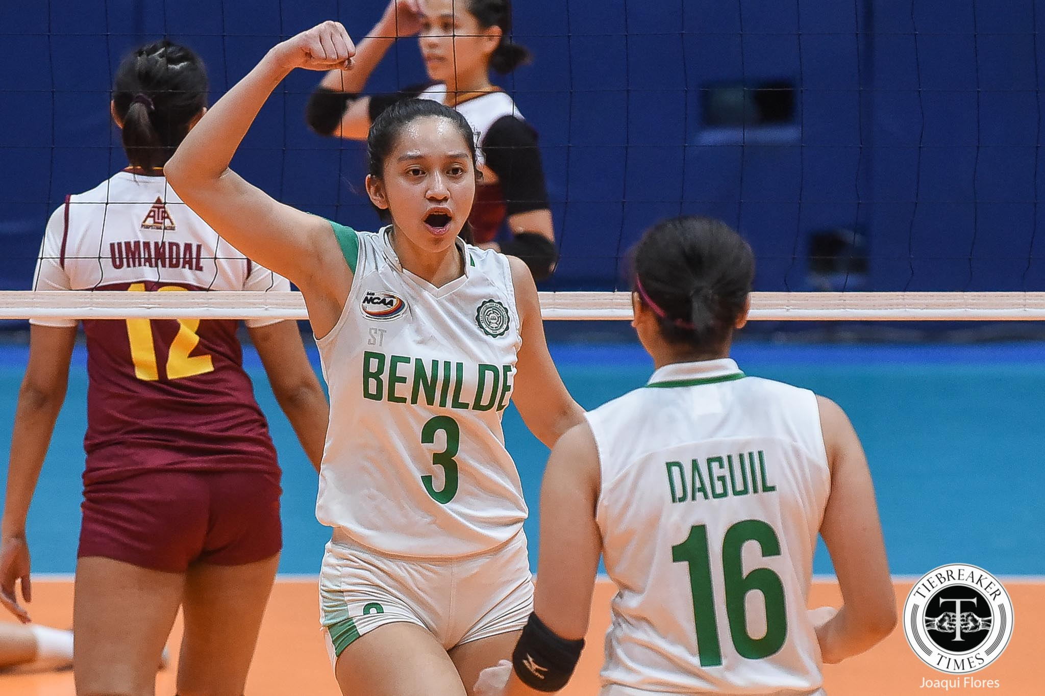 Tiebreaker Times Making sacrifices to play final year, Rachel Austero left with no regrets CSB NCAA News Volleyball  Saint Benilde Women's Volleyball Rachel Austero NCAA Season 94 Women's Volleyball NCAA Season 94