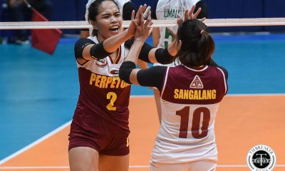 Tiebreaker Times Cindy Imbo, Perpetual continue Cinderella run, send Benilde packing CSB NCAA News UPHSD Volleyball  Saint Benilde Women's Volleyball Rachel Austero Perpetual Women's Volleyball NCAA Season 94 Women's Volleyball NCAA Season 94 Michael Carino Melanie Torres Jowie Versoza Jewel Lai Jerry Yee Felicia Cui Cindy Imbo