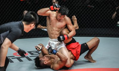 Tiebreaker Times Christian Lee gets back at Edward Kelly Mixed Martial Arts News ONE Championship  Team Lakay ONE: Eternal Glory Evolve MMA Edward Kelly Christian Lee