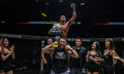 Tiebreaker Times Adriano Moraes outlasts Geje Eustaquio, reclaims Flyweight crown Mixed Martial Arts News ONE Championship  ONE: Hero's Ascent Geje Eustaquio Adriano Moraes