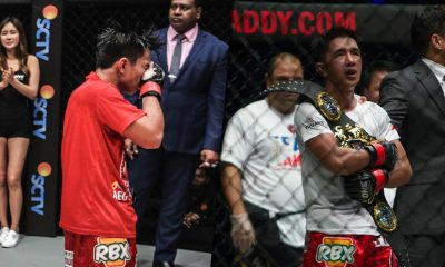 Tiebreaker Times Seeing Joshua Pacio downcast motivates Geje Eustaquio even more Mixed Martial Arts News ONE Championship  Team Lakay ONE: Hero's Ascent Joshua Pacio Geje Eustaquio