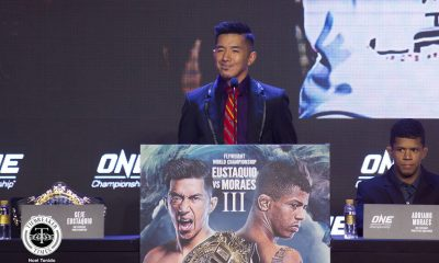 Tiebreaker Times Geje Eustaquio has a lot of surprises in store for Adriano Moraes in trilogy bout Mixed Martial Arts News ONE Championship  Team Lakay ONE: Hero's Ascent Mark Sangiao Geje Eustaquio