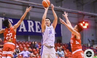 Tiebreaker Times Isaac Go, 9-man Ateneo make it rain on San Beda to even series ADMU Basketball News SBC  Tyler Tio Tab Baldwin San Beda Seniors Basketball James Canlas Isaac Go Clint Doliguez Calvin Oftana Boyet Fernandez Ateneo Men's Basketball