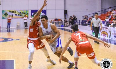 Tiebreaker Times Thirdy Ravena nails dagger as Ateneo Blue Eagles advance to PCCL Finals ADMU Basketball News SBC  Thirdy Ravena Tab Baldwin San Beda Seniors Basketball James Canlas Donald Tankoua Boyet Fernandez Ateneo Men's Basketball Angelo Kouame
