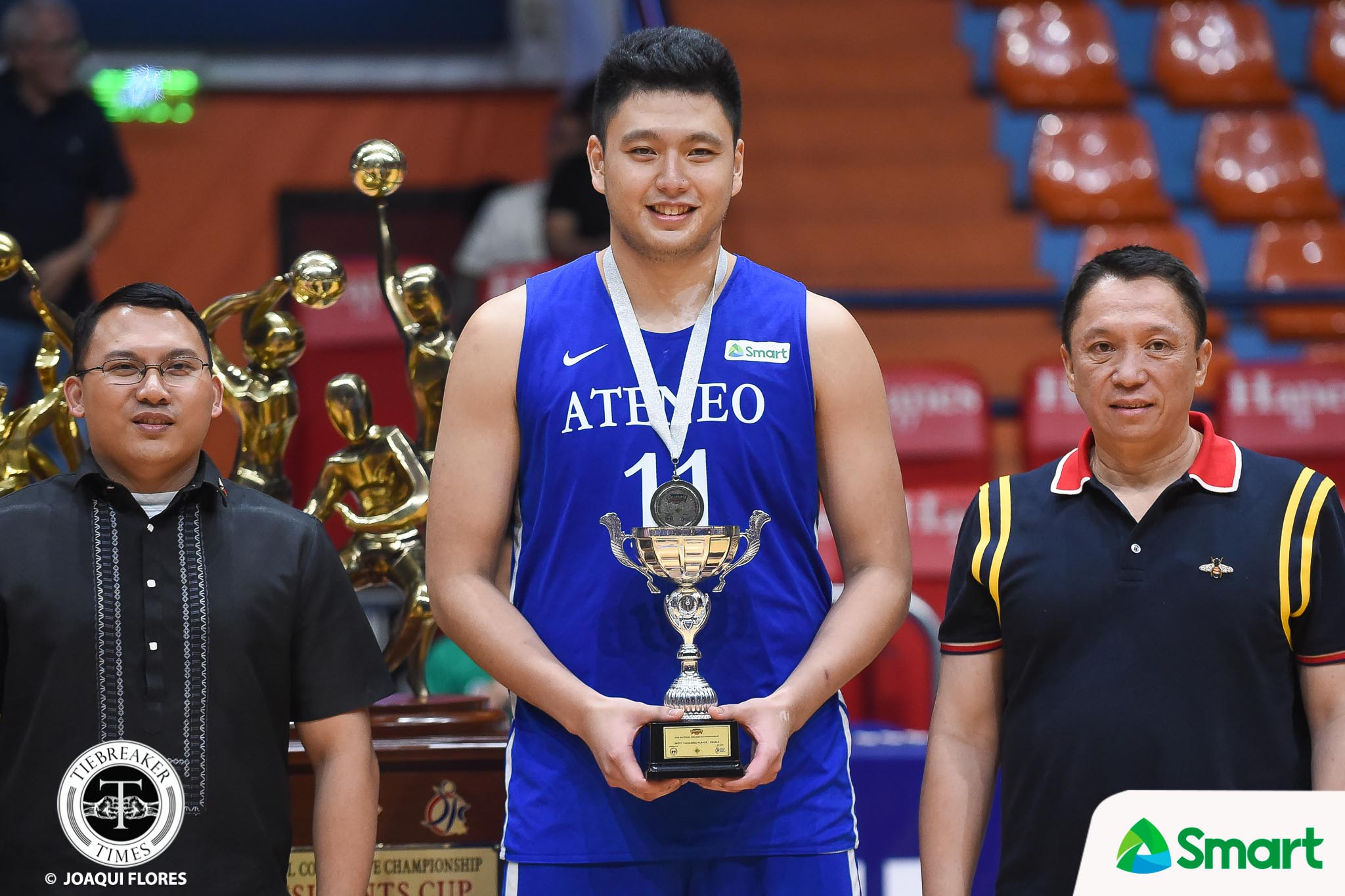 Tiebreaker Times Isaac Go out to prove that he still deserves minutes ADMU Basketball News  Isaac Go Ateneo Men's Basketball 2019 PCCL National Championship