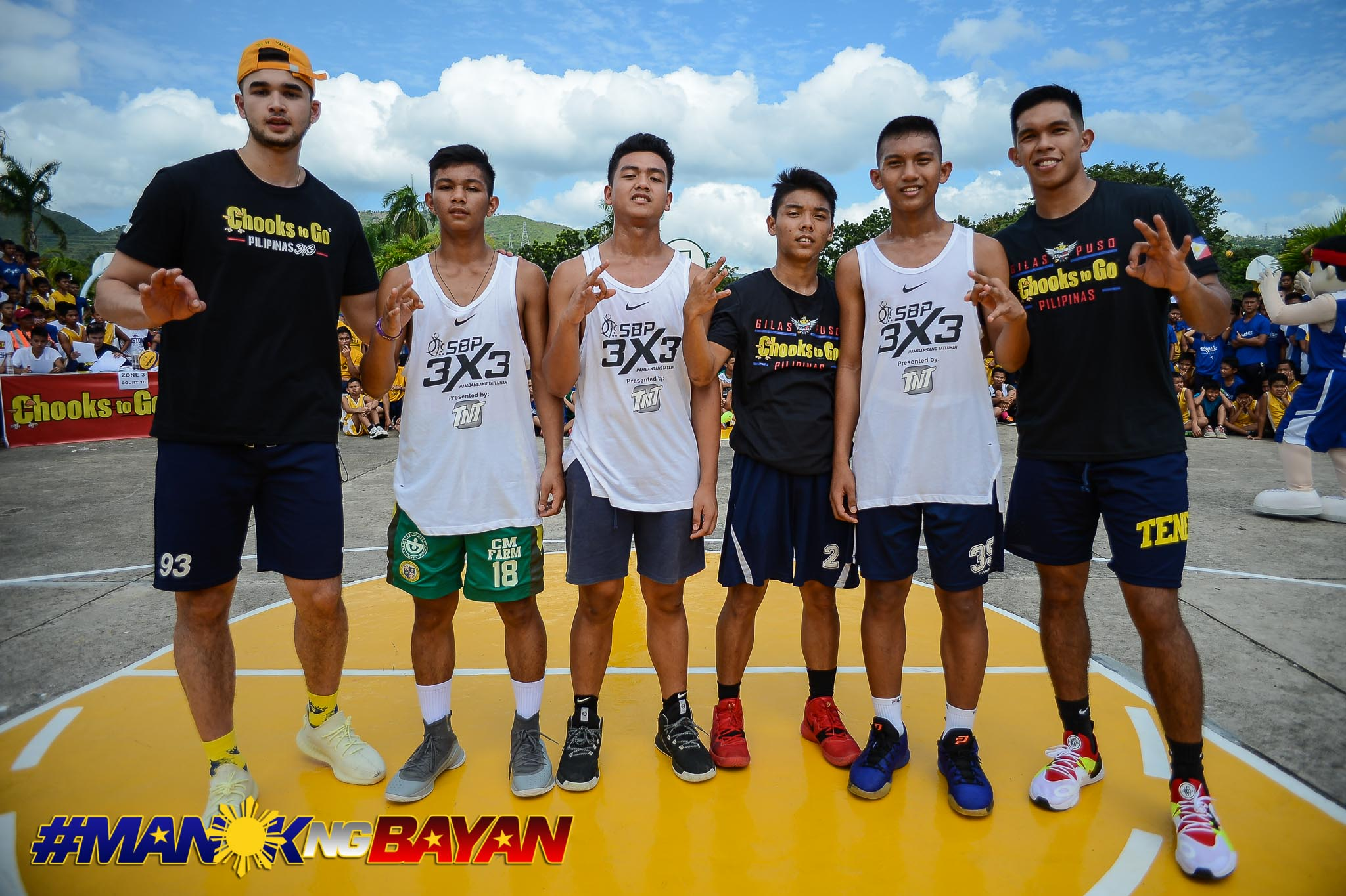 Tiebreaker Times Kobe Paras, Thirdy Ravena play surprise pick-up game in SMS-Boystown 3x3 Basketball Chooks-to-Go Pilipinas 3x3 News  Chooks-to-Go