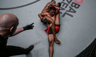 Tiebreaker Times Adriano Moraes lauds Geje Eustaquio for surviving 'Mikinho' kneebar Mixed Martial Arts News ONE Championship  ONE: Hero's Ascent Geje Eustaquio Adriano Moraes