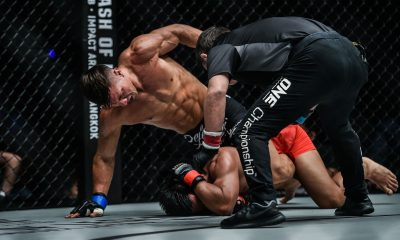 Tiebreaker Times Lowen Tynanes makes triumphant return, blasts Honorio Banario Mixed Martial Arts News ONE Championship  ONE: Hero's Ascent Lowen Tynanes Honorio Banario