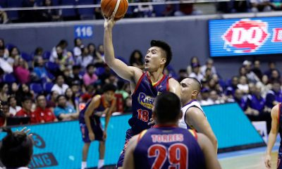 Tiebreaker Times James Yap sinks former team Magnolia as Rain or Shine enters break on top Basketball News PBA  Robbie Herndon Rain or Shine Elasto Painters PBA Season 44 Maverick Ahanmisi Mark Barroca Magnolia Hotshots James Yap Ian Sangalang Chito Victolero Caloy Garcia 2019 PBA Philippine Cup