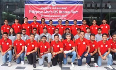 Tiebreaker Times PFF calls up 23 collegiate standouts for 2019 AFF U22 Football News Philippine Azkals  Winces Balbino William Grierson Vincent Lovitos Troy Limbo Salvador Salvacion Rico Andes Ray Sanciangco Philippine Football Federation Miggy Clarino Michael Asong Mark Winhoffer Major Dean Ebarle Lawrence Baguio Kyle Magdato Kenry Balobo Jumbel Guinabang Jordan Jarvis JB Borlongan James Mansueto Earl Laguerta Dylan De Bruycker Daniel Saavedra Banjo Mahinay Alexandre Arcilla 2019 AFF U22 Championship