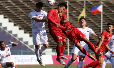 Tiebreaker Times Azkals U22 suffer late heartbreaker to Vietnam in AFF LG Cup Football News Philippine Azkals  Vietnam (Football) Tran Danh Trung Michael Asong Le Minh Binh JB Borlongan Anto Gonzales 2019 AFF U22 Championship