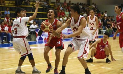 Tiebreaker Times Despite impressive line, Joshua Munzon says he can do more for AMA Basketball News PBA D-League  Joshua Munzon AMA Online Education Titans 2019 PBA D-League Season