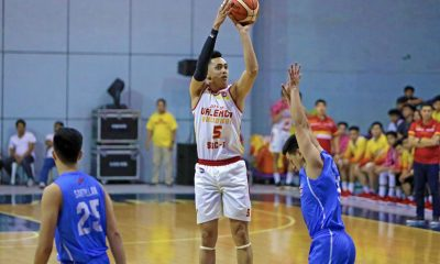 Tiebreaker Times Allyn Bulanadi admits there's pressure to fill Michael Calisaan's shoes Basketball News PBA D-League SSC-R  City of Valencia Bukidnon-San Sebastian Golden Harvest Allyn Bulanadi 2019 PBA D-League Season