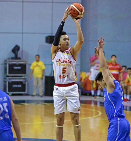 Tiebreaker Times Allyn Bulanadi admits there's pressure to fill Michael Calisaan's shoes Basketball News PBA D-League SSC-R  City of Valencia Bukidnon-San Sebastian Golden Harvest Allyn Bulanadi 2019 PBA D-League Season