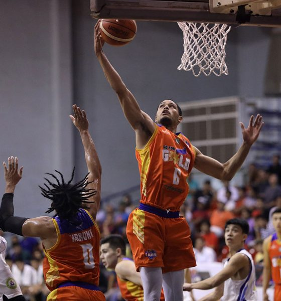 Tiebreaker Times No stopping Roosevelt Adams as he finally gets his papers done Basketball CSB News PBA D-League  Roosevelt Adams Go for Gold-CSB 2019 PBA D-League Season