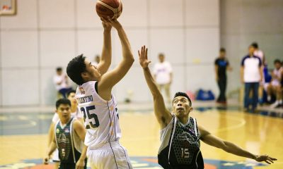 Tiebreaker Times Arvin Tolentino sees spoiled 2019 PBA Draft hopes a blessing in disguise Basketball News PBA D-League  Wangs Basketball Couriers Arvin Tolentino 2019 PBA D-League Season