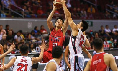 Tiebreaker Times Blackwater focusing on improvements, not playoffs, admits Allein Maliksi Basketball News PBA  PBA Season 44 Blackwater Elite Allein Maliksi 2019 PBA Philippine Cup