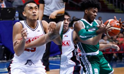 Tiebreaker Times 'Brothers' CJ Perez, MJ Ayaay glad to play each other in the pros Basketball News PBA  PBA Season 44 MJ Ayaay Columbian Dyip CJ Perez Alaska Aces 2019 PBA Philippine Cup