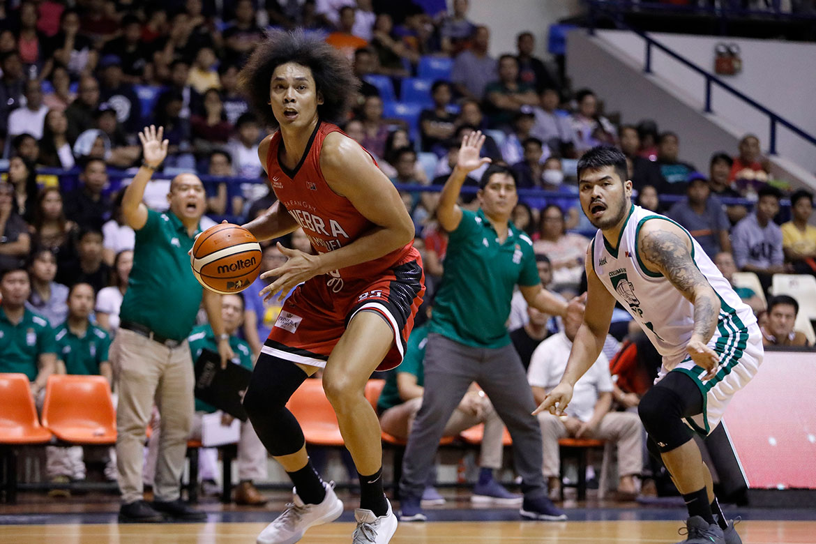 Tiebreaker Times Japeth Aguilar worried with Gilas duties following minor ankle injury 2019 FIBA World Cup Qualifiers Basketball Gilas Pilipinas News PBA  PBA Season 44 Japeth Aguilar Gilas Elite Barangay Ginebra San Miguel 2019 PBA Philippine Cup 2019 FIBA World Cup Qualifiers