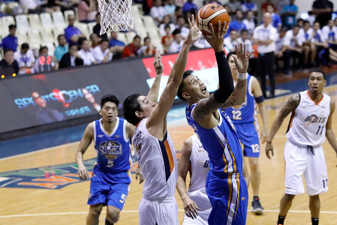 Tiebreaker Times NLEX edges Meralco for second straight win Basketball News PBA  Yeng Guiao Reynel Hugnatan PBA Season 44 Norman Black NLEX Road Warriors Meralco Bolts Kevin Alas JR Quinahan JP Erram Jared Dillinger Chris Newsome Bong Galanza 2019 PBA Philippine Cup