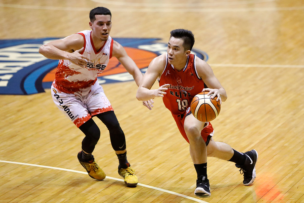 Tiebreaker Times Paul Desiderio slowly finding form thanks to Bong Ramos' trust Basketball News PBA  PBA Season 44 Paul Desiderio Bong Ramos Blackwater Elite 2019 PBA Philippine Cup