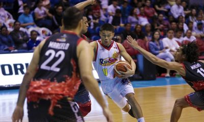 Tiebreaker Times Needing fresh legs, Kris Rosales steps up for Rain or Shine Basketball News PBA  Rain or Shine Elasto Painters PBA Season 44 Kris Rosales Caloy Garcia Beau Belga 2019 PBA Philippine Cup